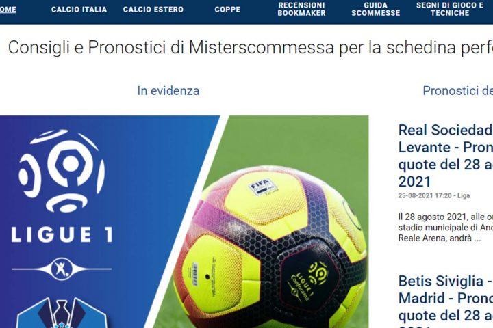 misterscommessa.com pronostici calcio gratuiti